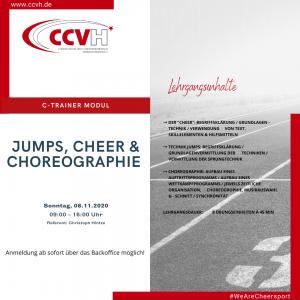 C-Trainer Modul – Jumps, Cheer & Choreographie