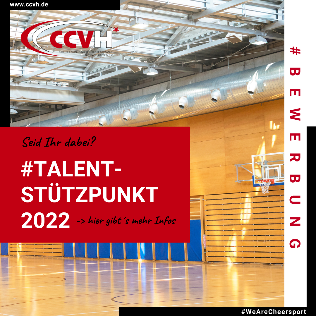 Bewerbung Talentstützpunkt